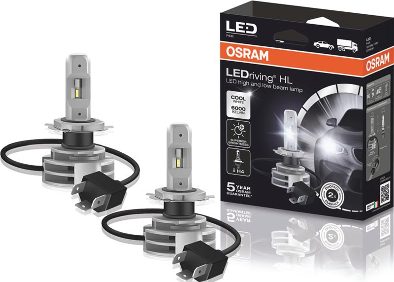 WIN! OSRAM LEDriving headlight replacement bulbs