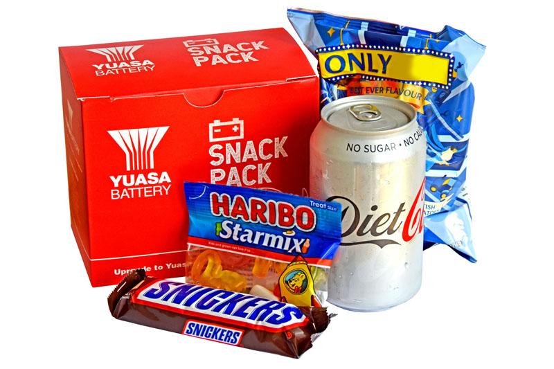 Yuasa launches snack pack scheme
