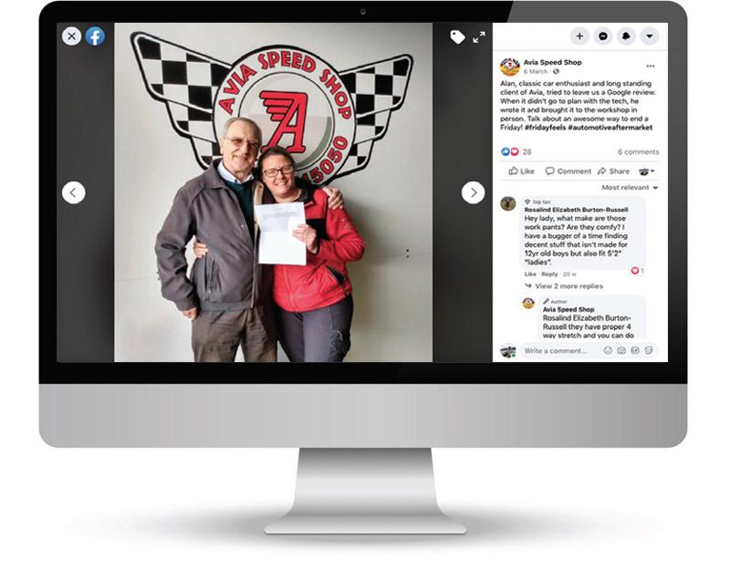 Aviva Autos explores the benefits of Facebook