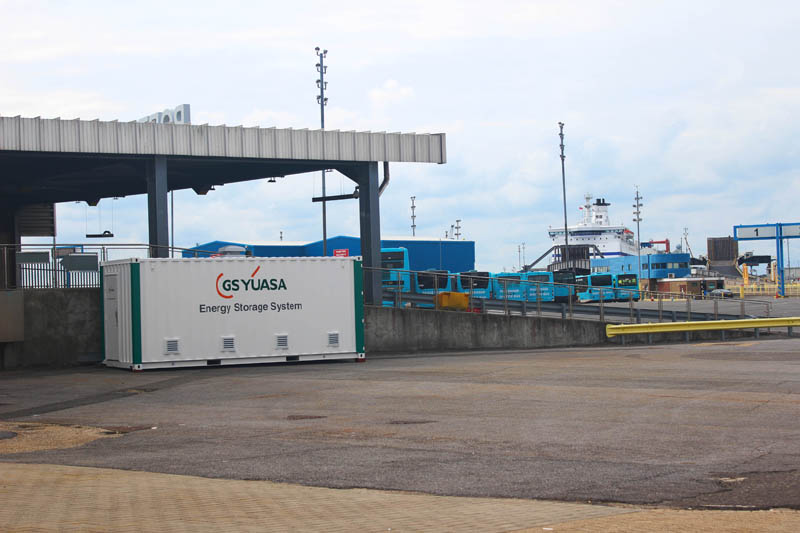 GS Yuasa installs Portsmouth Port charging station