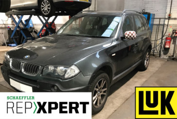 REPXPERT replaces clutch on a BMW
