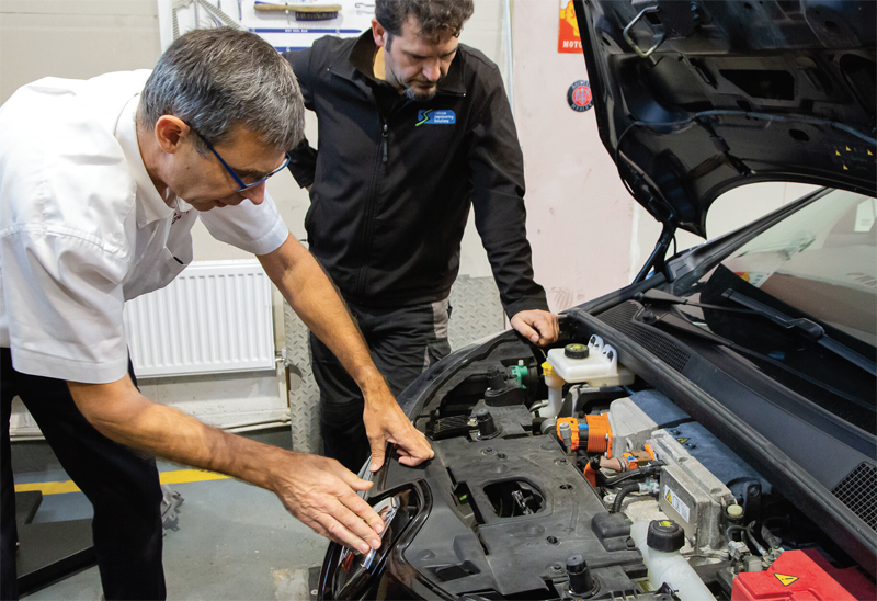 Autotech Recruit considers benefits of EV training