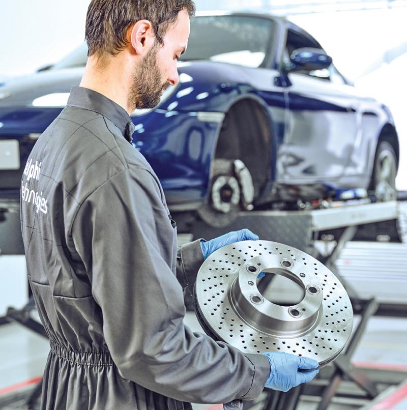 Delphi offers brake and suspension advice