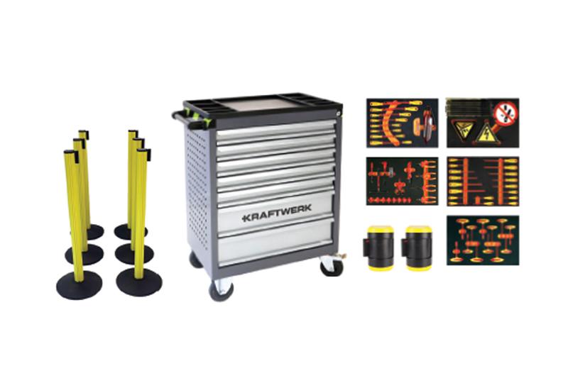 Kraftwerk Tools launches VDE Tool Trolley