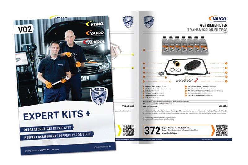 Vierol publishes EXPERT-KITS+ catalogue
