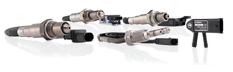 Bosch outlines exhaust gas sensors range