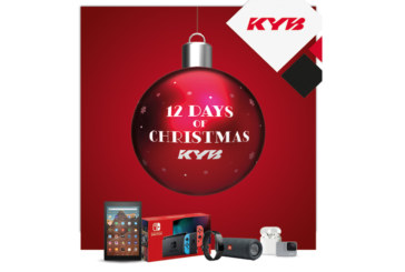 KYB launches 12 Days of Christmas