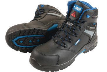 Laser Tools introduces safety workboots
