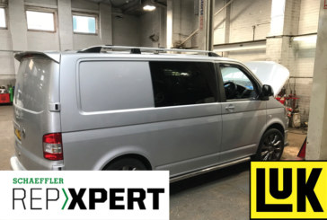 REPXPERT replaces clutch on VW Transporter