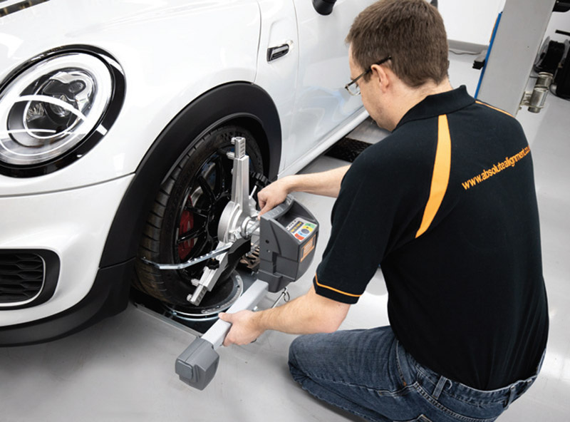 The best way to approach wheel alignment