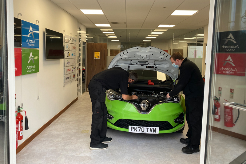 Autotech opens Electric Vehicle Training Suite