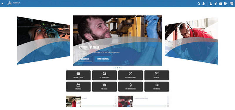Autotech dissects online training