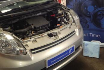 Blue Print replaces clutch on a Daihatsu