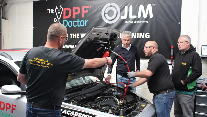 DPF Doctor highlights emissions and DPF link