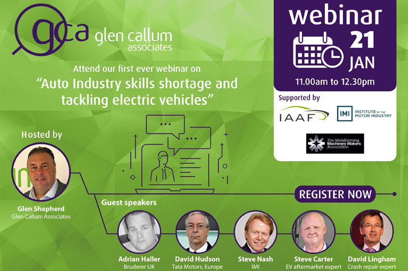 GCA launches EV webinar