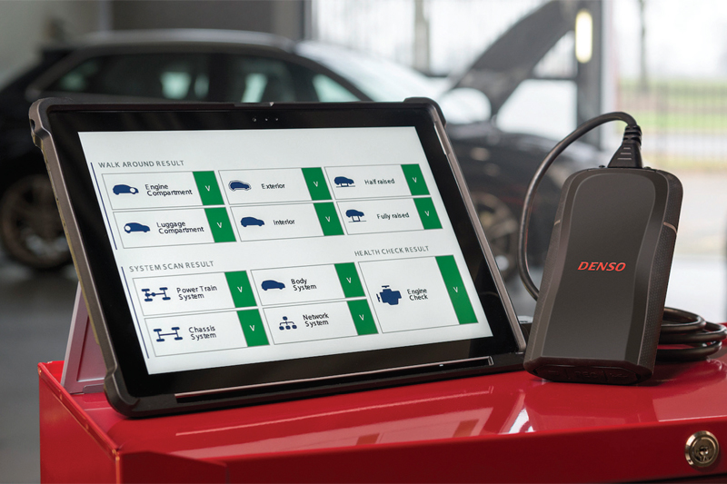 DENSO updates e-Videns diagnostics tool