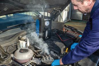 Draper Tools runs through diagnostic machine