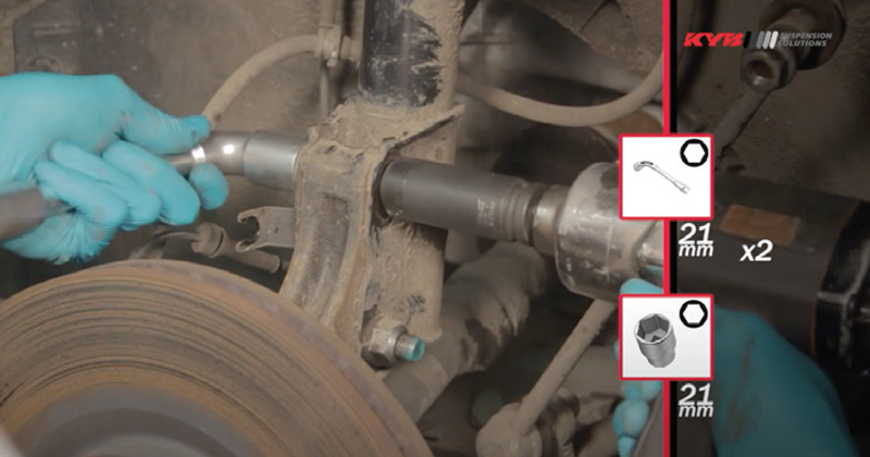 How to replace front shock absorbers