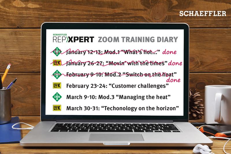 Schaeffler completes latest training module