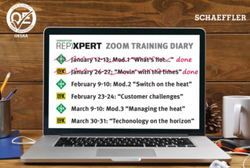 Schaeffler REPXPERT continues training sessions