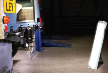 Workshop lighting for winter days