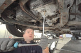 Changing DCT 450 automatic transmission oil