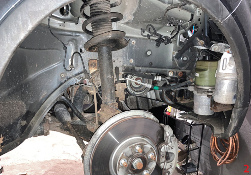How to replace Ford Kuga timing belt