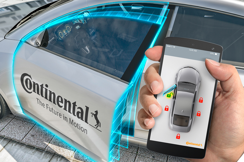 Continental Automotive partners with hiyacar