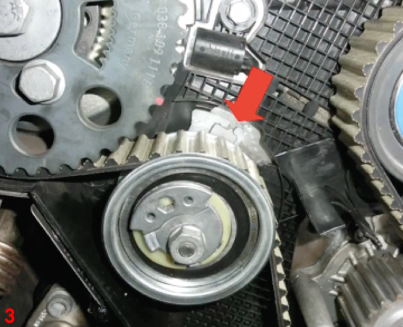 How to install a timing belt on a VW Tiguan