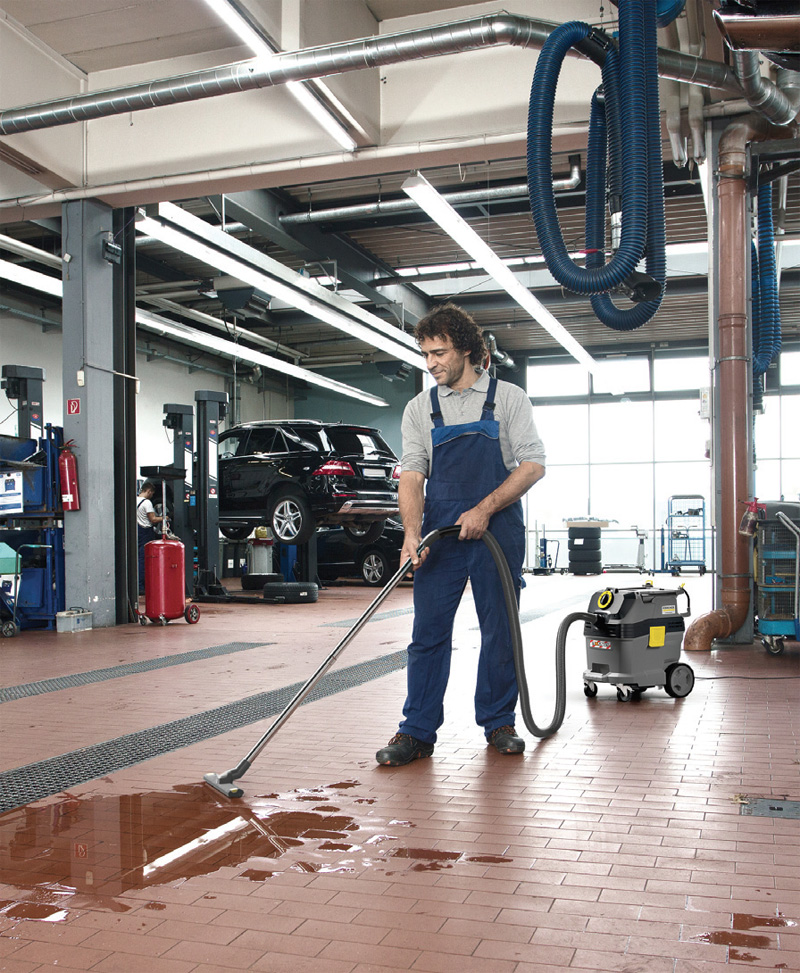 Products to help keep garages clean
