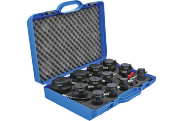 Laser Tools introduces turbo systemtester set