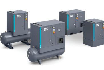 Atlas Copco adds to screw compressor range
