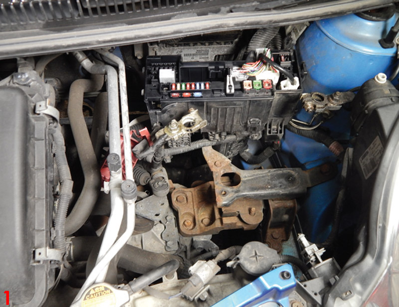 How to replace a clutch on a 2009 Peugeot 107