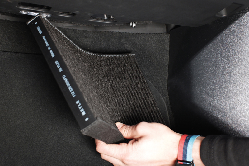 The role of the cabin air filter