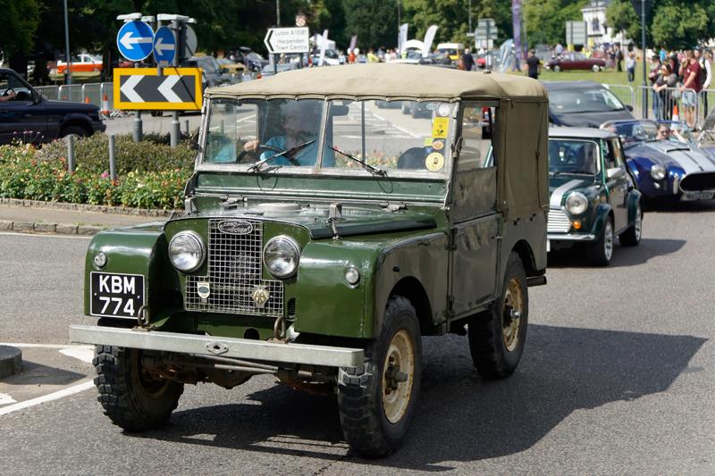 Classic car series: 1940s