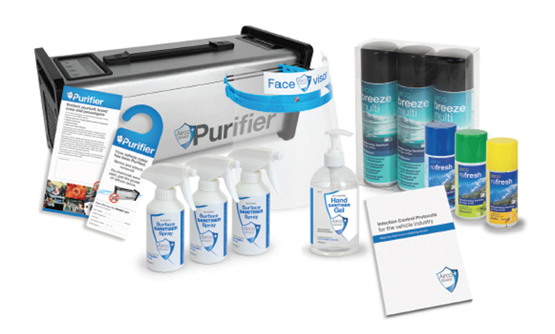WIN! Primalec air purifying package