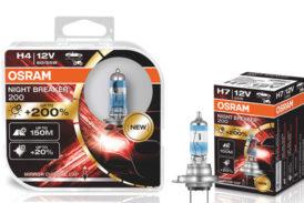 OSRAM upgrades headlamp bulbs