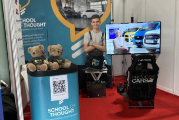 School of Thought attends British Motorshow
