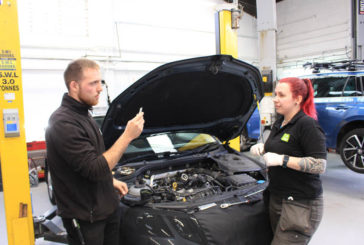Autotech Academy places first female intern