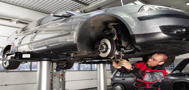 Multi-link suspension diagnosis and repair - VW Passat B5