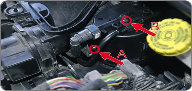 2014 Mazda 3 Fuel Filter Location