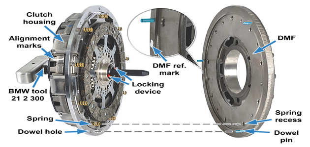 bmw e60 m5 smg clutch replacement