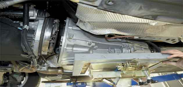 Clutch and DMF replacement - Mercedes W211 E-Class